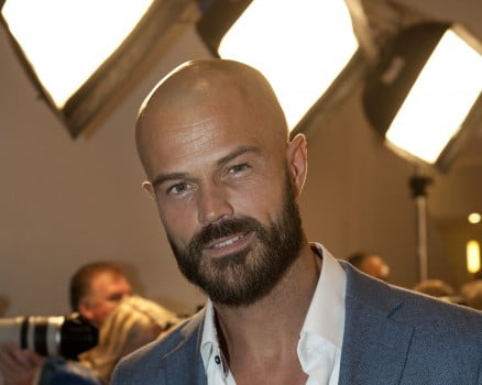 Arie Boomsma baard