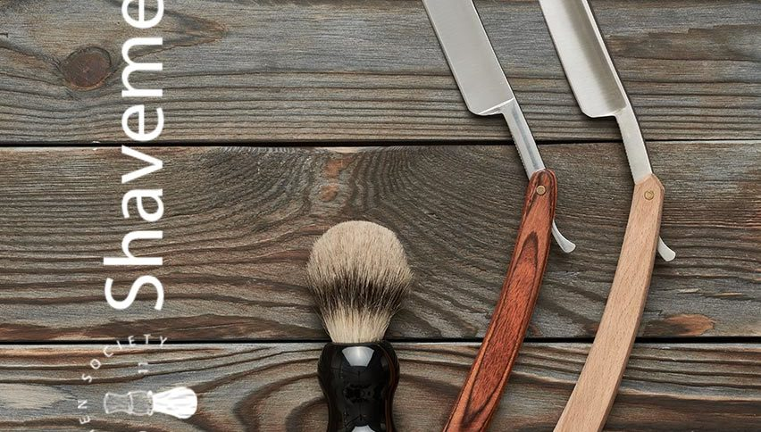 Hoe scheer je met een open scheermes? 1