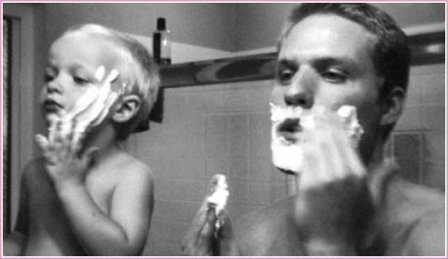 vader-zoon-spiegel