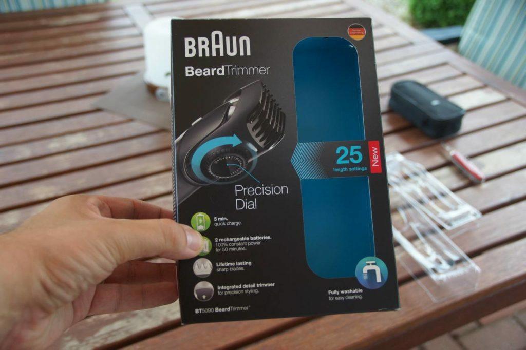 Braun BT5090 Baarttrimmer Review