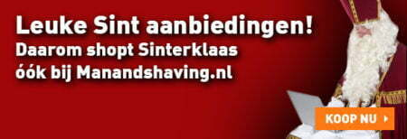 Leuke Sintaanbiedingen bij Manandshaving.nl